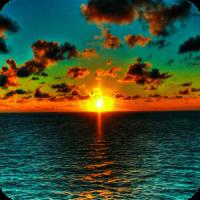 3D Sunrise Wallpaper