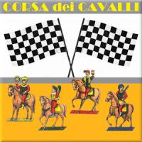 Gioco di carte corsa cavalli