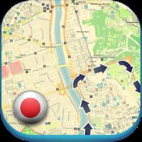日本オフラインマップ天気ホテルガイド車のレンタルイベント