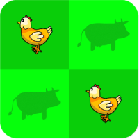 Tiere Memo – Spiel für Kinder