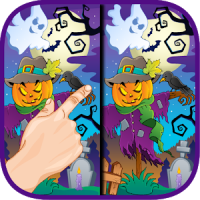 Halloween Game Find Difference