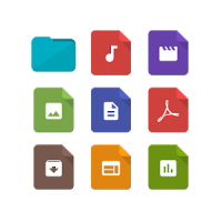 Paper Icons for Solid Explorer