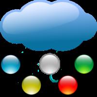 Raining dots