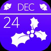 Christmas Holly Countdown
