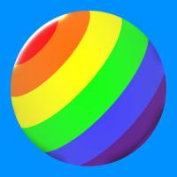 Rainbow Ball Rush