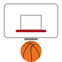 Basketball messenger star
