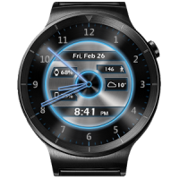 Metal Glow HD Watch Face Widget & Live Wallpaper