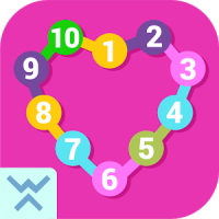 Connect the dots learn numbers game