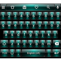 Dusk Green Emoji Keyboard