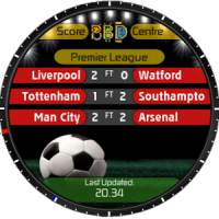 Live Football Scores for Watchmaker