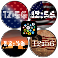 USA Watch Face Theme Pack #2