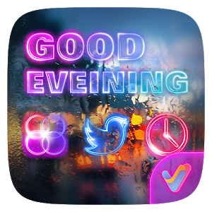 Good Evening V Launcher Theme