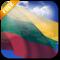 3D Lithuania Flag Live Wallpaper