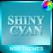 Shiny Cyan Theme for Xperia