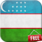 Flag of Uzbekistan Live Wallpaper