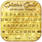 Glitter Gold Keyboard Themes