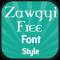 Zawgyi Free Font Style