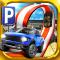 3D Monster Truck Parking Game