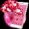 Romantic pink Balloons theme