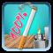 Cigarette HD Battery Indicator