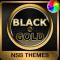 Black & Gold Theme for Xperia