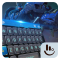 Blue Robotic Pacific Keyboard Theme