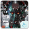 Robot Queen Alice Keyboard Theme