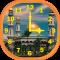Mosques Analog Clock