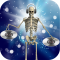 DJ Music for dancing skeleton