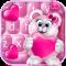 Sweet Pink Valentine Keyboard