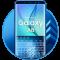 Keyboard for Galaxy A8 Blue