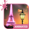 Paris Animated Keyboard + Live Wallpaper