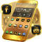 Neon Gold Theme For Launcher