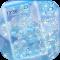 Blue Diamond Glitter Theme Wallpaper