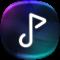 Music Player Style Samsung S9 plus edge-Free Music