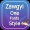 Zawgyi One Fonts Style