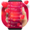 Red love SMS