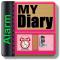 AVA Diary Secret Diary with CITIZENS CALCULATOR