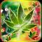 Weed Rasta Ganja Smoke Keyboard