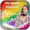 My name ringtone with music-my name song editor