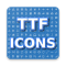 TTF Icons. Browse Font Awesome & Glyphicons Icons