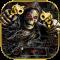Horror Skull Gun Keyboard Theme