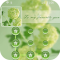 AppLock Theme Green Flowers