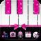 Pink Theme Pink piano