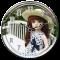 Cute Dolls Clock LiveWallpaper