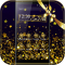 Gold Star Theme Starry Sky