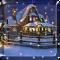 Snow Night House Live Wallpaper Free