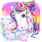 Unicorn Shiny Rainbow Theme