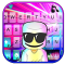 Cool Blast DJ Music Keyboard Background