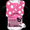 Pink Minnie Keyboard Theme